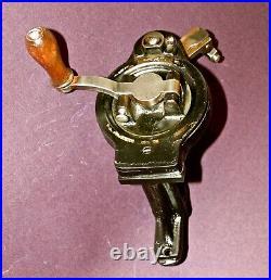 1890 Original Antique Hand Crank Device Singer, Silberberg Sewing Machines Work