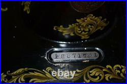 1910s Singer 28K Hand Crank Sewing Machine Rococo Decal FREE Delivery PL2043