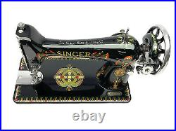 1925 SINGER 66 Lotus 66k Vtg Sewing Machine Restored & Fully Serviced by 3FTERS