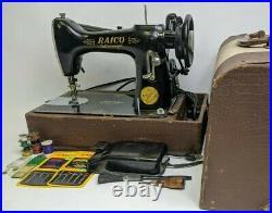 1930's Raico FEATHERWEIGHT SEWING MACHINE Working Singer Clone Read Description