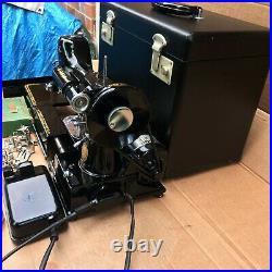 1955 Vintage Singer 222K Featherweight Free Arm Portable Sewing Machine