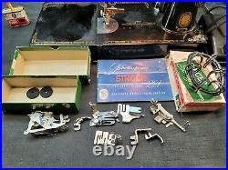 1957 Singer 221 Feather Weight Sewing Machine