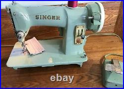 1962 Singer Sewing Machine Heavy Duty Model 185J Serviced and Cleaned