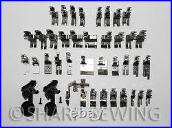 40 Presser Foot Set High Shank Industrial Sewing Machine Juki Brother Singer
