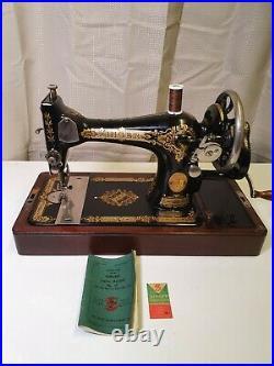 Antique Old Vintage Hand Crank Singer sewing machine Model 28K (Y8447003)