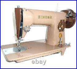 Antique SINGER 191K1 vintage sewing machine heavy duty leather canvas denim