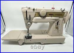 Fully Serviced SINGER GERMAN 431G FREE ARM SEWING MACHINE BUILT IN CHAINSTITCH