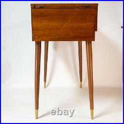 Gorgeous Vintage Singer Sewing Machine Cabinet 201 66 15 15-90 15-91 600 MCM