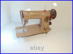 INDUSTRIAL STRENGTH HEAVY DUTY SINGER SEWING MACHINE 16 oz Leather WOW