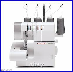 NEW SINGER 14CG754 ProFinish 2-3-4 Thread Serger With Sewing Machine Intro DVD