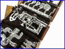 RARECOMPLETE! Style 3 for VS2 Antique Singer Sewing Machine 1889 Oak Puzzle Box