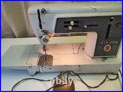 Rare Vintage Singer Sewing Machine 631G 1960s with Metal gears