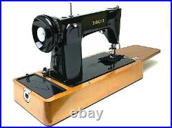 SINGER Sewing Machine Wooden Base With Extension Board Table 201 306 316 319 215