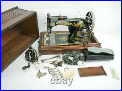 Sewing Machine Singer 28 K 1904 Antique Collectibles