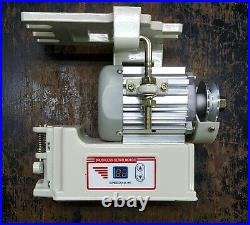 Singer 114w103 + Cornely Machine Digital Servo Motor 110v US/Canada 800w w Belt