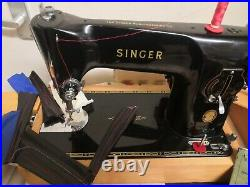 Singer 201k Semi Industrial Leather And Fabric Sewing Machine