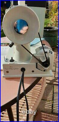 Singer 221k Featherweight 1964 White CAK9-12 Vintage Sewing Machine Quilting VG