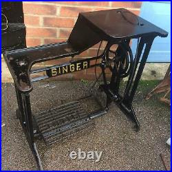 Singer 29K Cylinder Arm Leather Patcher Industrial Sewing Machine Stand/Base