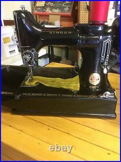 Singer 99k 3/4 sewing machine 1954