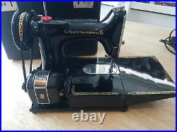 Singer Featherweight 222K Sewing Machine. Serviced. Excellent Condition