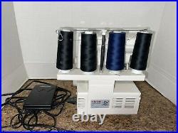Singer Finishing Touch 14SH654 Ultralock Serger Sewing Machine Estate Item WORKS