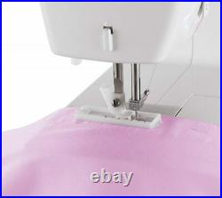 Singer Simple Sewing Machine 3223 (White/Pink) 23 Stitch. FREE SHIPPING