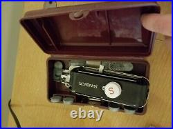 Singer sewing machine 301a with table and accessories
