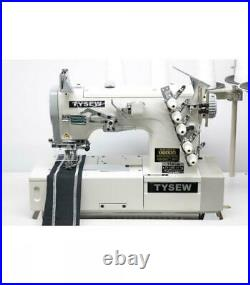 Tysew TY-1900-64-1 Coverstitch (Top and Bottom) Industrial Sewing Machine