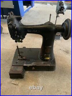 Used Singer 91 K4 k5 k6 Post Extra Small Post Bed Glove stitching Sewing Machine