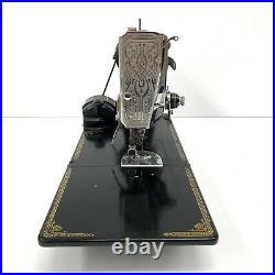 Vintage 1940 SINGER 221 Featherweight Sewing Machine Bundle