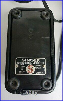 Vintage 1950s Singer Featherweight 221-1 Portable Electric Sewing Machine