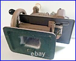 Vintage SINGER Sewhandy BOX Extras Model 20 Sewing Machine Mini 1953 Beige