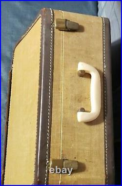 Vintage Singer 319W Sewing Machine Sea-Foam Green with Piano Keys