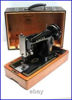Vintage Singer 99k Sewing Machine c1950s Near Mint Condition! 6682 A