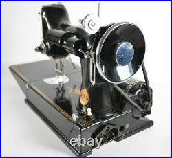 Vintage Singer Featherweight 221 -1 Sewing Machine 1935 w Box Manual AD999181