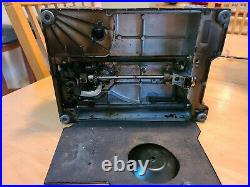 Vintage Singer Featherweight 221 Sewing Machine 1955 Case Foot Pedal Accessories