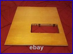 Vintage Singer Folding Table 29 High Sewing Machine 32x32 301 Short Bed