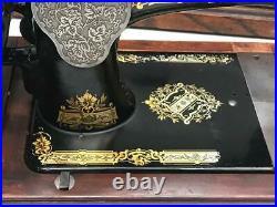 Vintage Singer Model 28K Hand Crank Sewing Machine c1911 7173