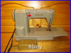 Vintage Singer Sewing Machine 301a, Long Bed, Serviced, Na309343