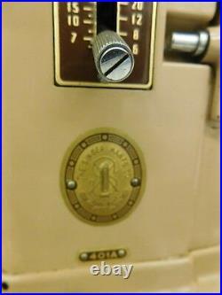 Vintage Singer Sewing Machine 401a Midcentury