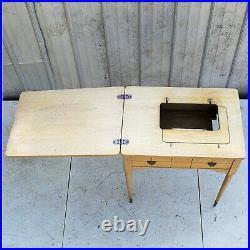 Vintage Singer Sewing Machine Cabinet Table Fits Singer's 99k