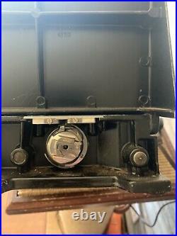 Vintage Singer Sewing Machine Featherweight Model 221