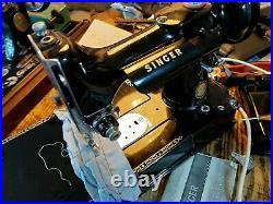 Vintage singer 222k Featherweight collectable rare machine