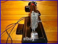 Wwii Singer Sewing Machine Model 201-2, Serviced